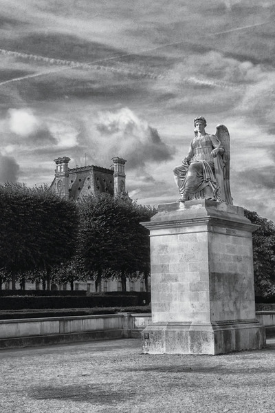 """louvre""  Giclée print on archival paper"