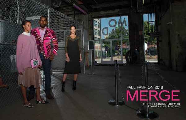 MERGE - FALL FASHION 2018 - SEEN MAGAZINE -MOCAD